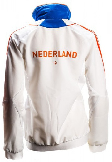 Sportjack Team Nederland Damen weiß orange