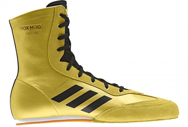 adidas Box-Hog 3 boxing shoes gold men