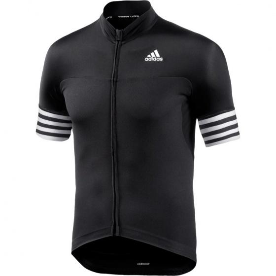 adidas Fietsshirt Adistar SS korte mouw dames zwart maat XS