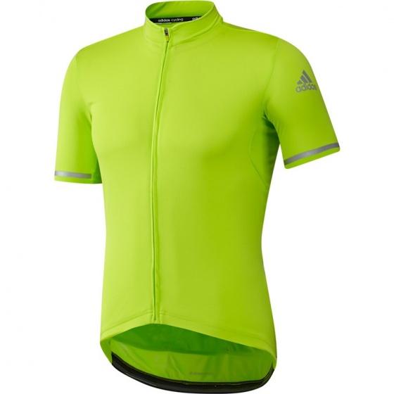 adidas Fietsshirt Supernova C korte mouw heren groen mt XS