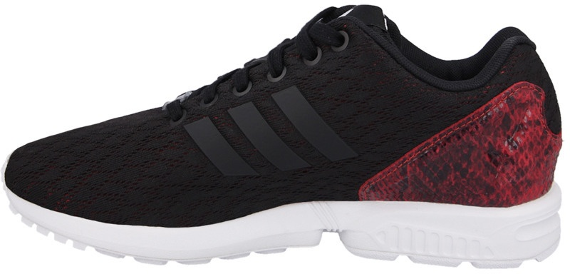 adidas zx flux zwart on feet