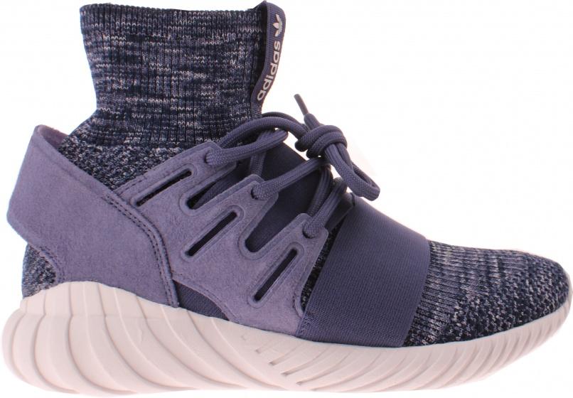 Details zu Herren adidas Originals Sneaker Tubular Doom Primeknit Knöchel Schuhe Schwarz