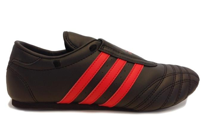 Taekwondo Schuhe Adidas schwarz weiß Gr. 39