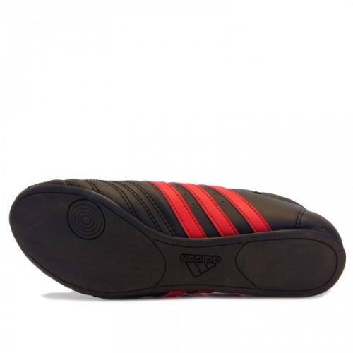 Taekwondo Schuhe ADI SM II schwarz rot