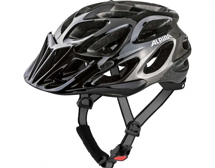 Alpina fietshelm Thunder unisex zwart maat 57 62 cm