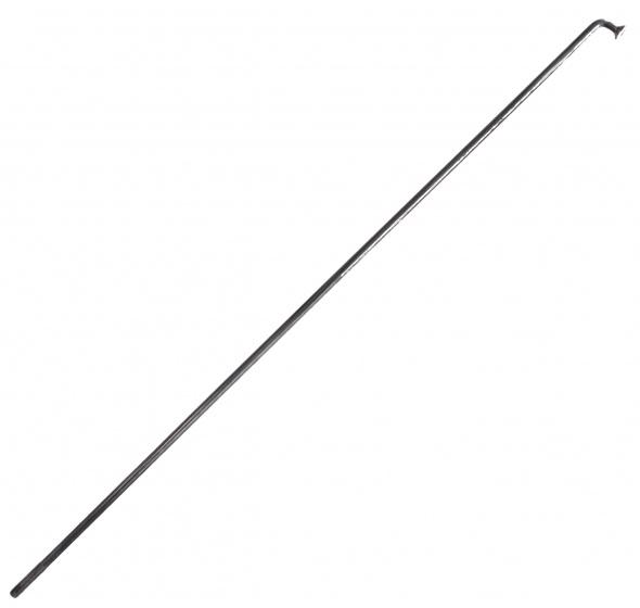 Alpina spaken 250 mm aluminium 14G zilver 144 stuks