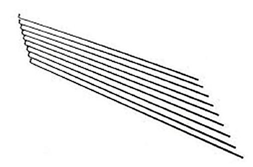 Alpina spaken zonder nippels 14 270 zink/staal zilver 144 stuks
