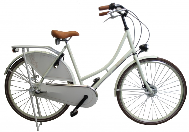 Altec Style 28 Inch 55 cm Dames 3V Rollerbrakes Wit