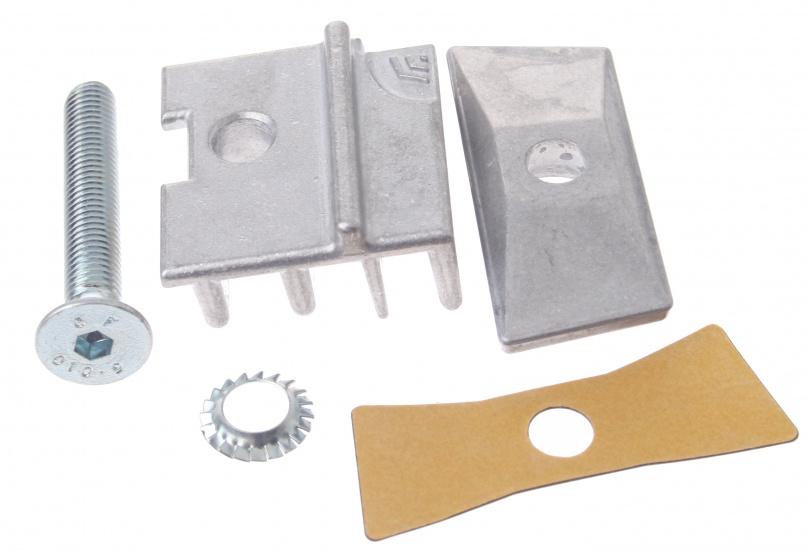 Hebie Adapter Set Voor Dubbele Standaard Staal