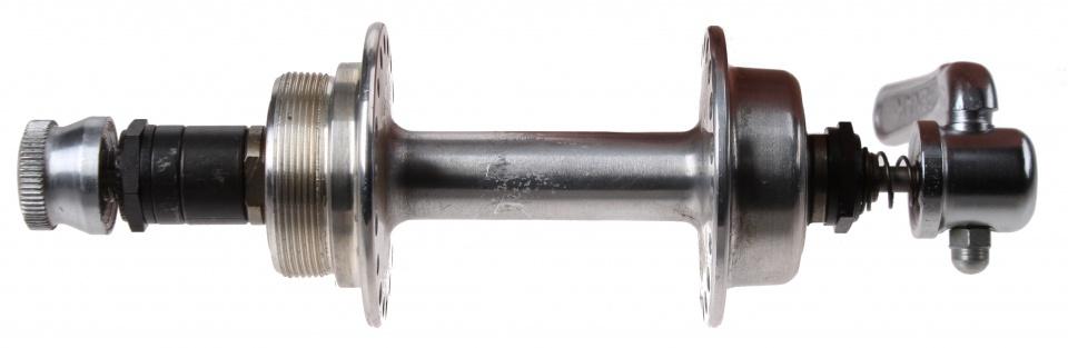 Amigo achternaaf 36G staal zilver