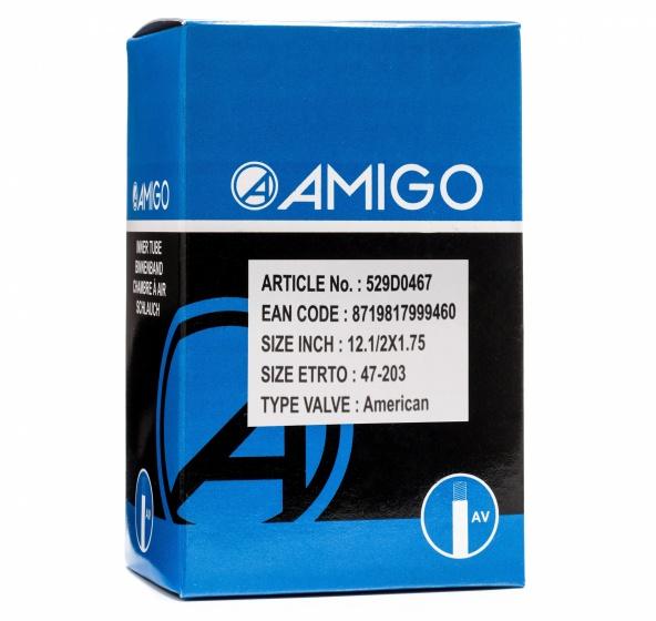 Korting Amigo Binnenband 12 1 2 X 1.75 (47 203) Av 48 Mm