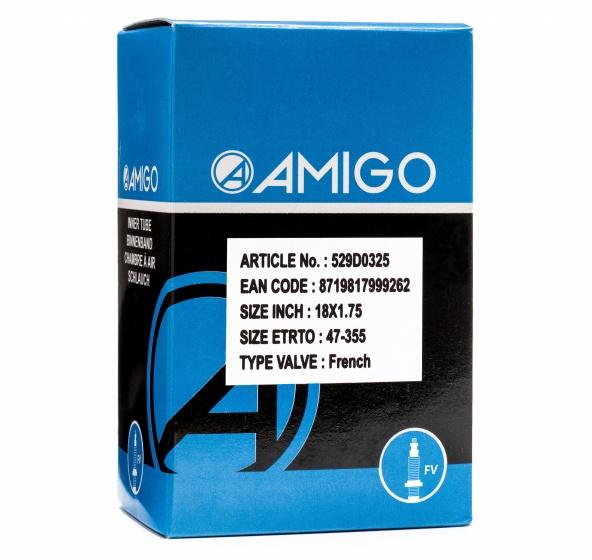 AMIGO Binnenband 18 x 1.75 (47 355) FV 48 mm