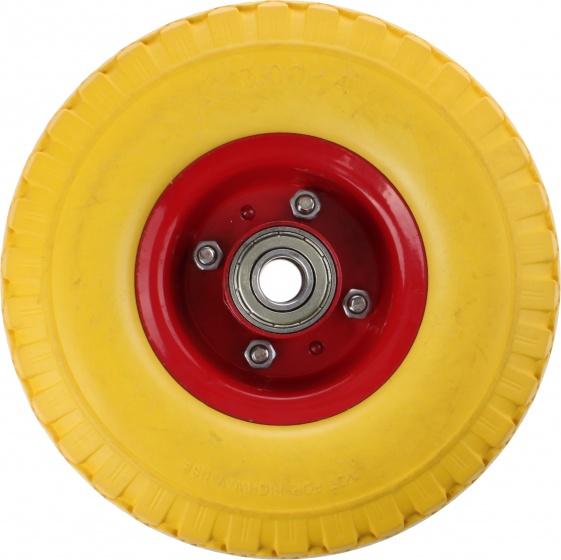 Amigo bolderkarwiel 260 x 80 mm geel/rood