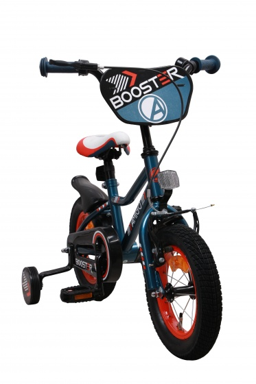 AMIGO Booster 12 Inch 20 cm Jongens Terugtraprem Blauw