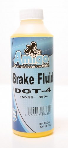 Amigo Brake Fluid DOT 4 250cc