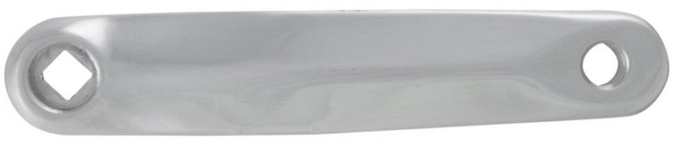 Amigo crank links 170 mm zilver