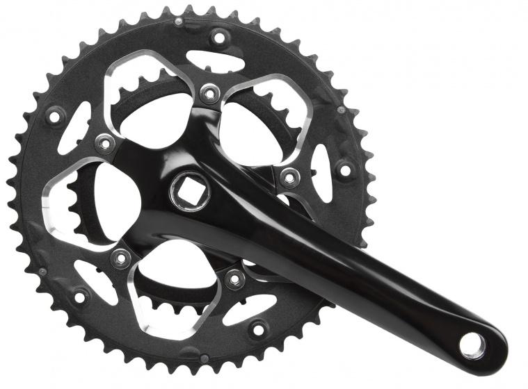 Prowheel crankstel 10 speed 34 50T 172,5 mm zwart