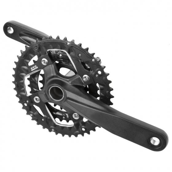 Prowheel crankstel 9 speed 22 32 44T 170 mm zwart