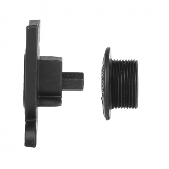 Prowheel crankstel set 11 speed 34 50T 172,5 mm zwart