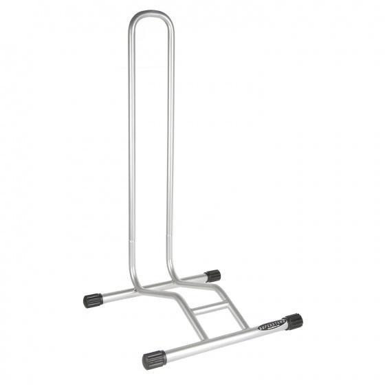 Willworkx fietsenrek voor 1 fiets zilver 38 x 40 x 75 cm