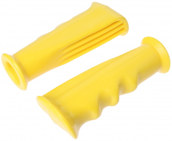 ACS handvatten set BMX 12 cm geel