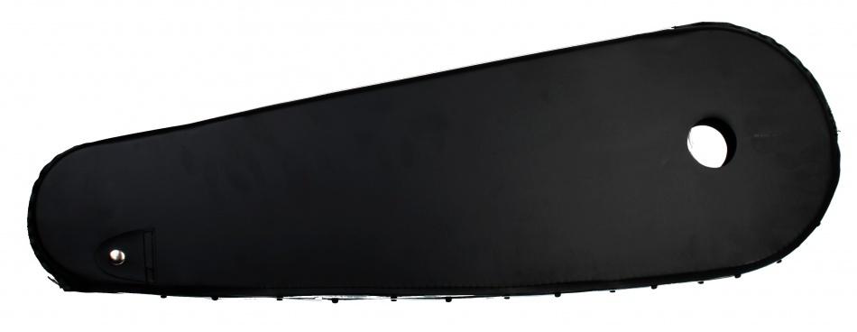 Bofix Kettingkast 28 inch lakdoek glanzend zwart 68x 22 cm