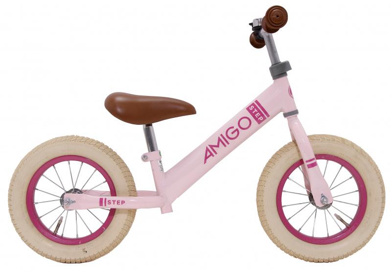 Amigo Step 12 Inch Meisjes Roze online kopen