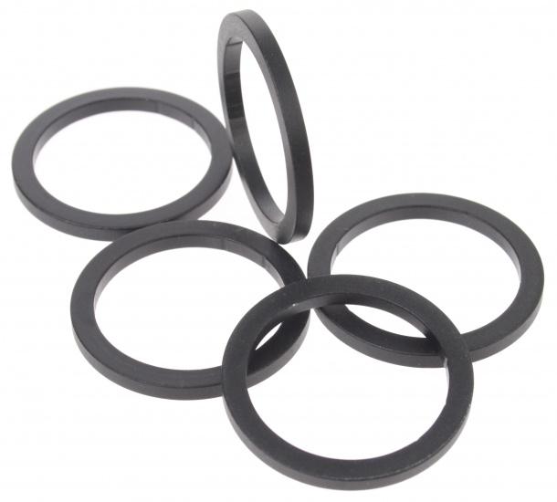 Amigo Opvulring aluminium 1 1/8 inch 3 mm zwart 5 stuks