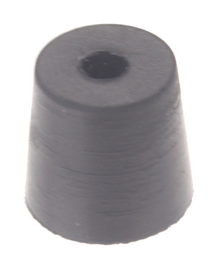 Amigo Pomprubber Voetpomp 10 mm Groot Zwart