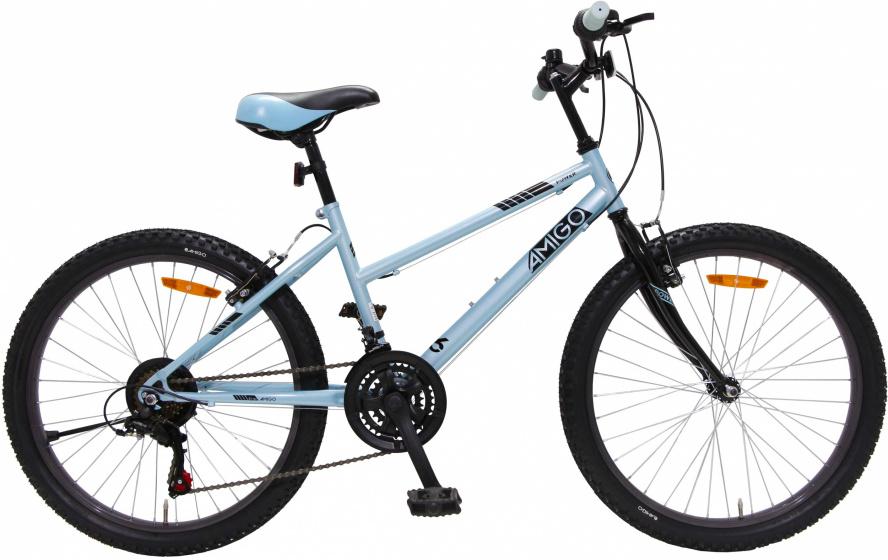Amigo Power 26 Inch 42 Cm Meisjes 18v V-brakes Ijsblauw online kopen