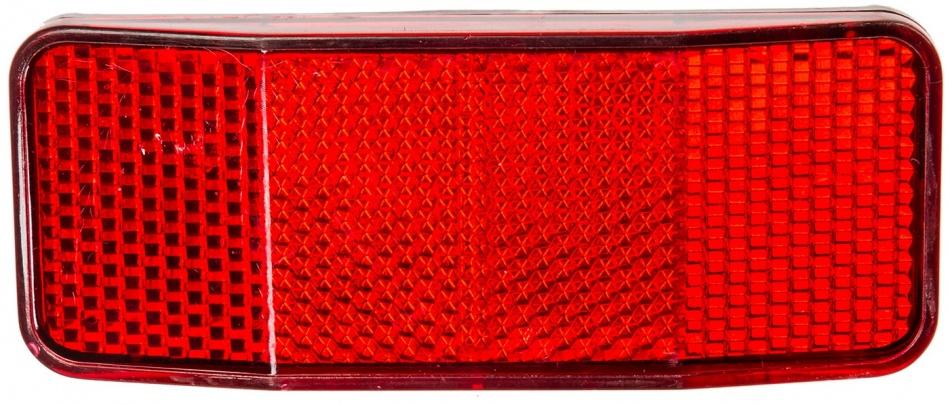 Amigo Reflector kunststof 50 80 mm rood