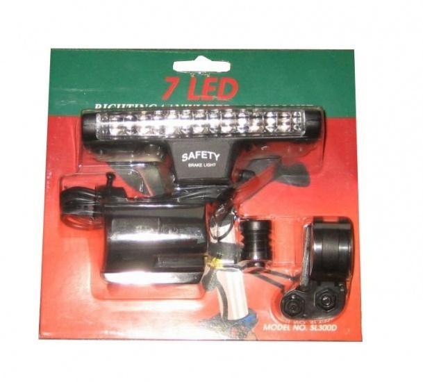 Amigo Remachterlicht LED + Richtingaanwijzer