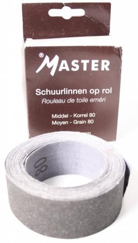 Master Schuurlinnen Middel 80 Op Rol 5 Meter