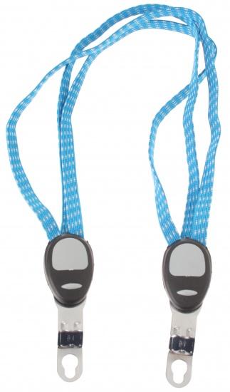 Amigo snelbinder Trio 55 cm blauw