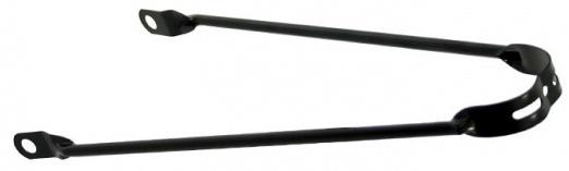 TOM spatbordstang 24 inch staal zwart per stuk