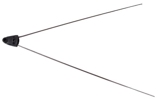 Amigo Spatbordstang Achter V Bar PAD Bevestiging Staal 26 Inch Zilver