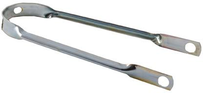 Amigo Spatbordstang Staal 12 Inch Zilver Per Stuk