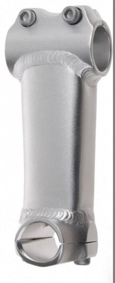 Amigo stuurpen voorbouw Ahead 25,4/125/28,57 mm zilver