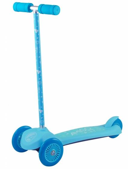 Amigo - Surfer 3-wiel Kinderstep Junior Voetrem Turquoise/blauw