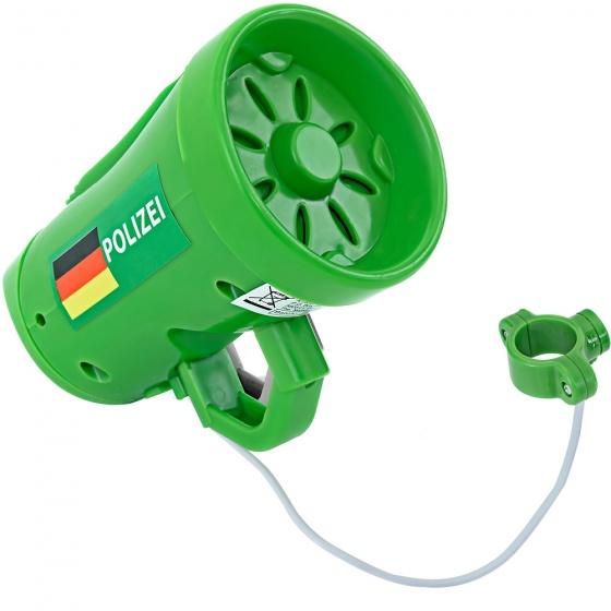 TOM Toeter polizei sirene groen 10 cm