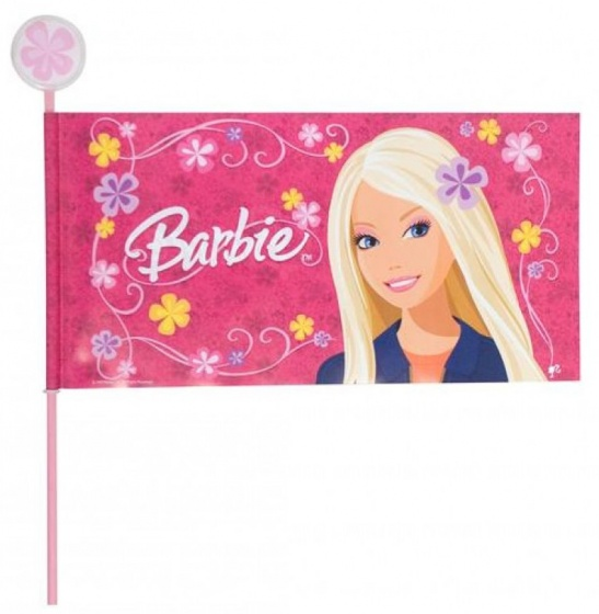 Amigo veiligheidsvlag Barbie deelbaar 170 cm