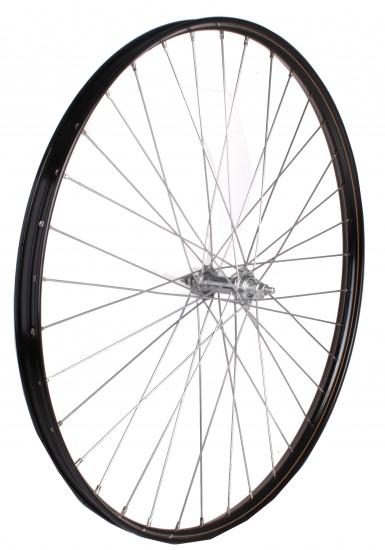 Amigo Voorwiel 28 x 1 1/2 staal 36G zwart