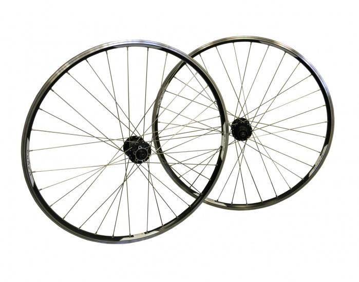Amigo Wielset Deore 29 Inch Schijfrem/V brake aluminium 32G zwart