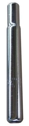 Amigo Zadelpen vast kaars 25,0 x 200 mm staal chroom