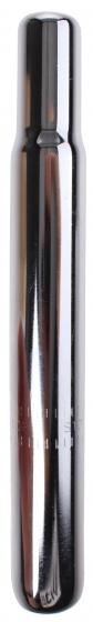 TOM zadelpen vast kaars 25,0 x 200 mm staal zilver