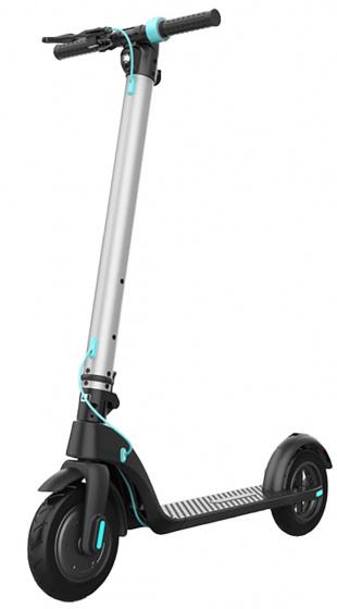 Anlen elektrische step SL 8.5 Inch 11 cm Unisex Schijfrem Zwart/Zilver