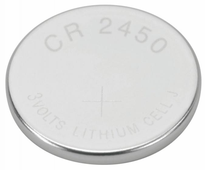 Ansmann batterij CR2450 3V zilver per stuk