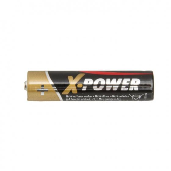 Ansmann batterijen X power AAA alkaline per 4 stuks