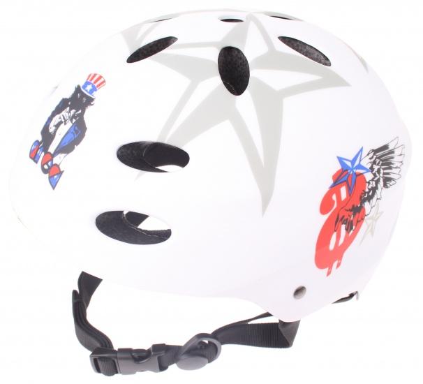 Area Helm Uncle Sam Wit Maat L (58 60 cm)