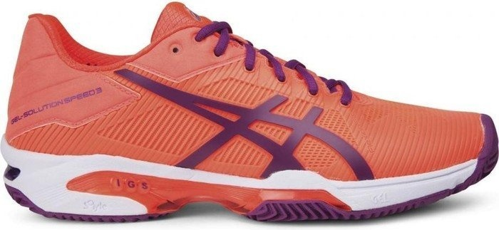 tennisschoenen Speed 3 Clay dames oranje